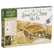 Spinach-Feta Phyllo Pie