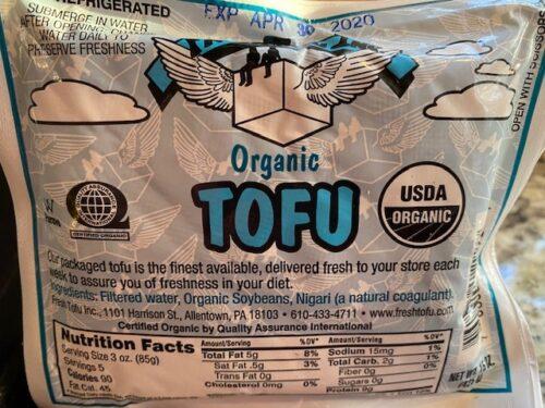 Tofu organic local
