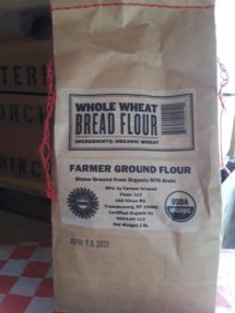 Flour Organic Whole Wheat Bread