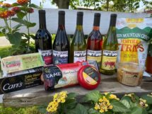 Wine Time Cheese & Salsa Package (Two Wines Included)