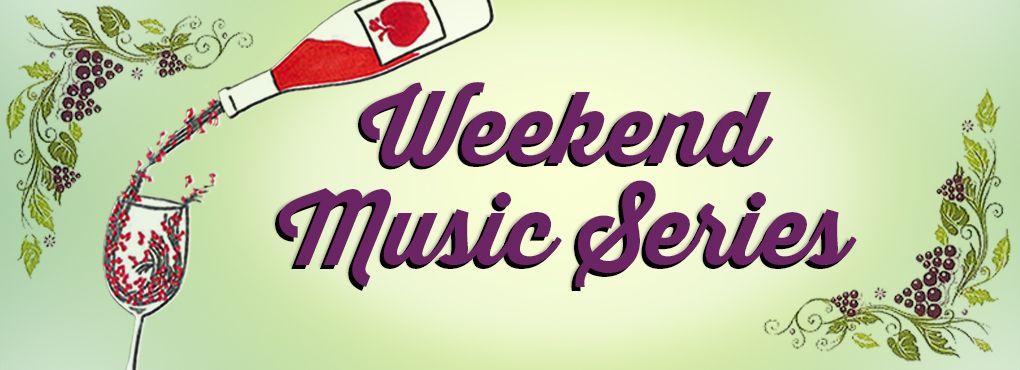 weekend music series banner