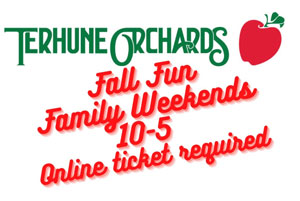 fall fun family weekends 10-5 online ticket required
