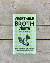 aneto broth vegetable