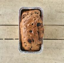 vegan blueberry bread