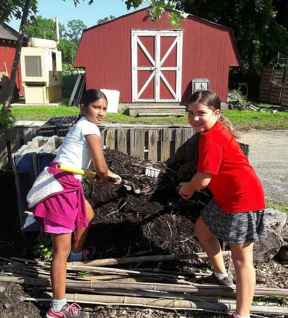 camp composting